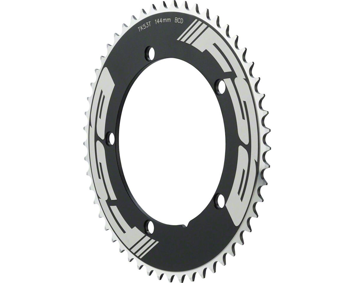 "FSA Pro Track Chainring 53t x 144mm 1/2x1/8"" Black"