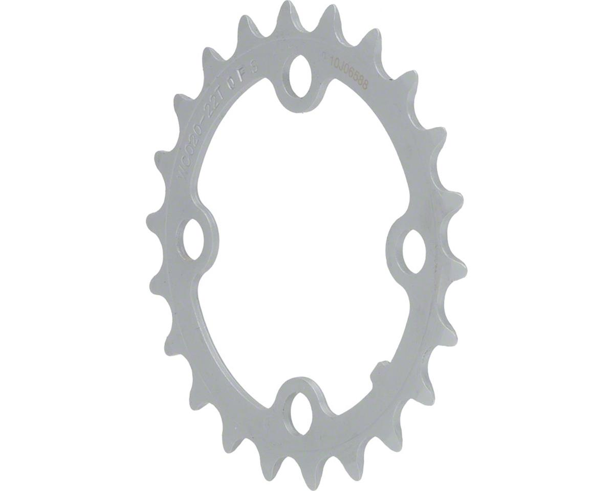 ATB 8/9sp 22t 64mm Silver Steel Chainring