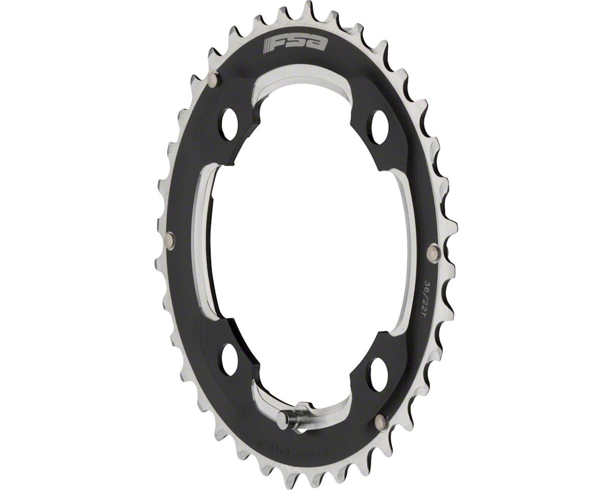 FSA Super N-10 104 x 36t Chainring, Black