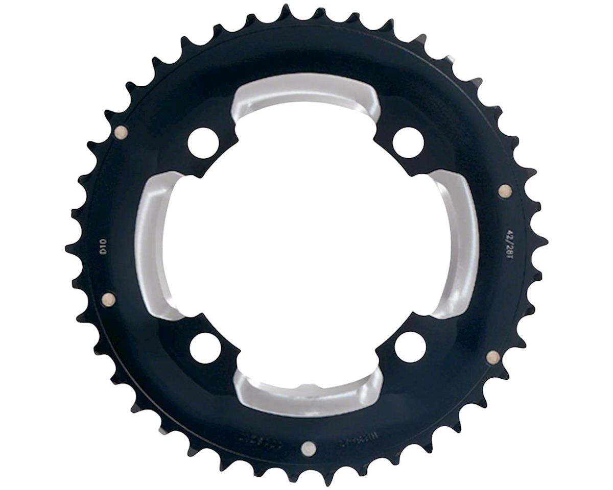 FSA (Full Speed Ahead) MTB Pro Double Chainring - 36t, 104 BCD, 4-Bolt, Aluminum