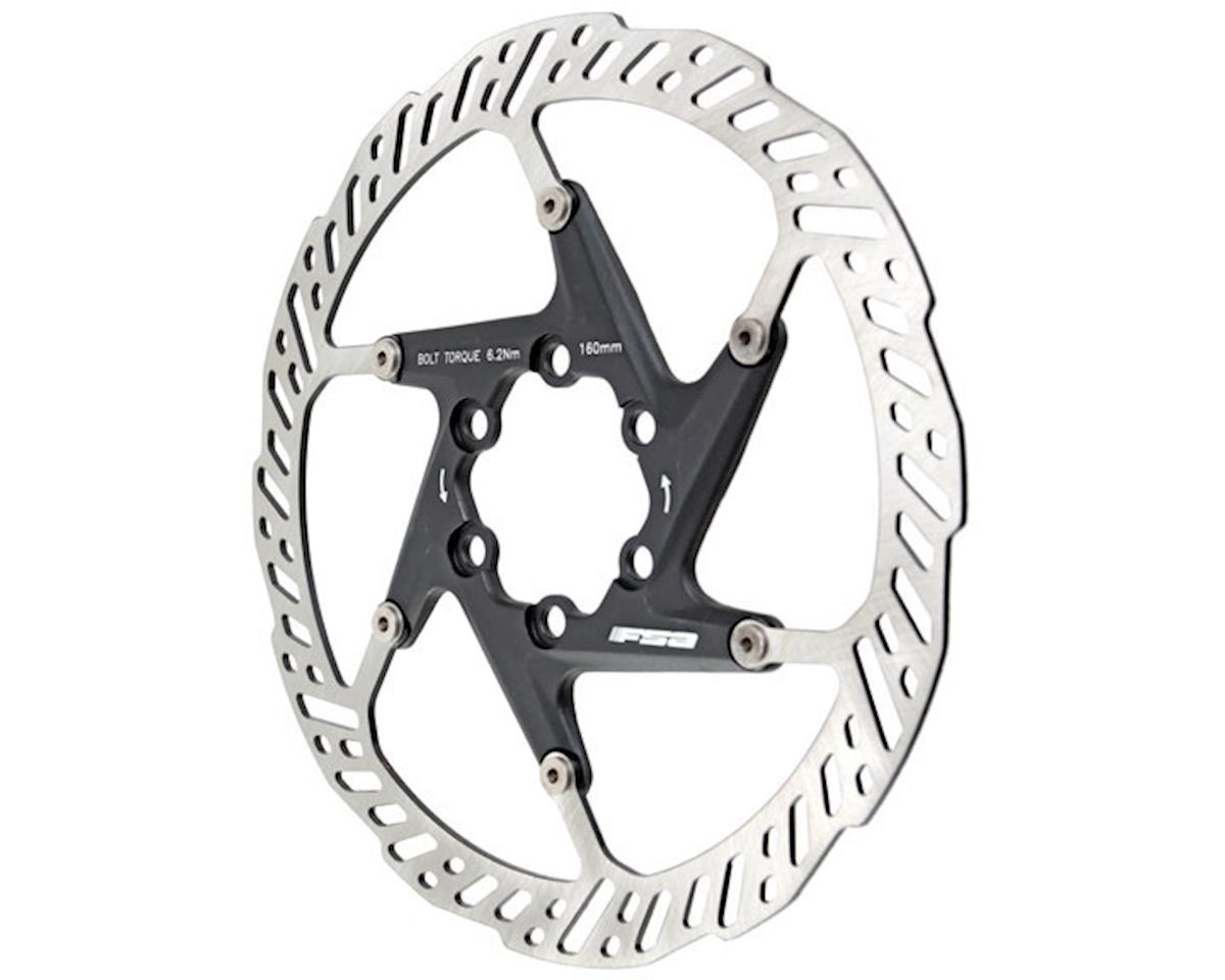 FSA K-Force 2 Piece Rotor - 160mm 6-bolt
