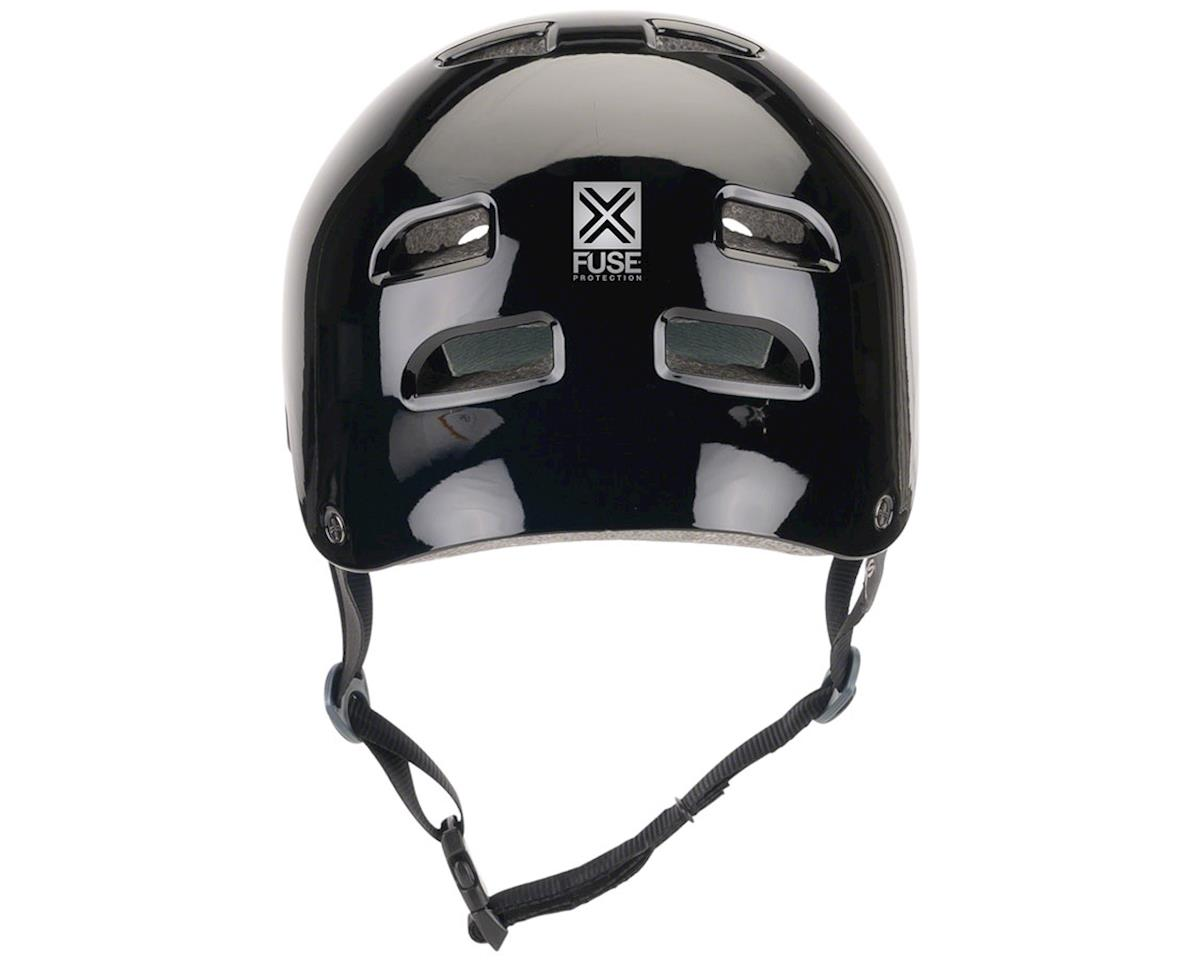 Fuse Protection Alpha Icon Helmet: LG/XL (59-61cm) Glossy Black Brush Logo (M/L)