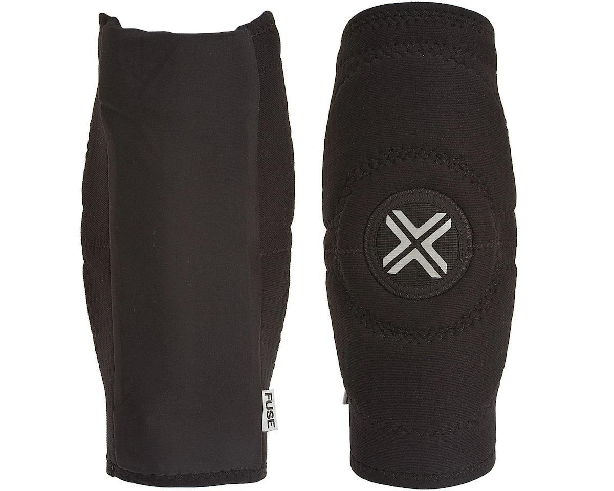 Fuse Protection Alpha Knee Sleeve Pad: Black SM, Pair (XL)