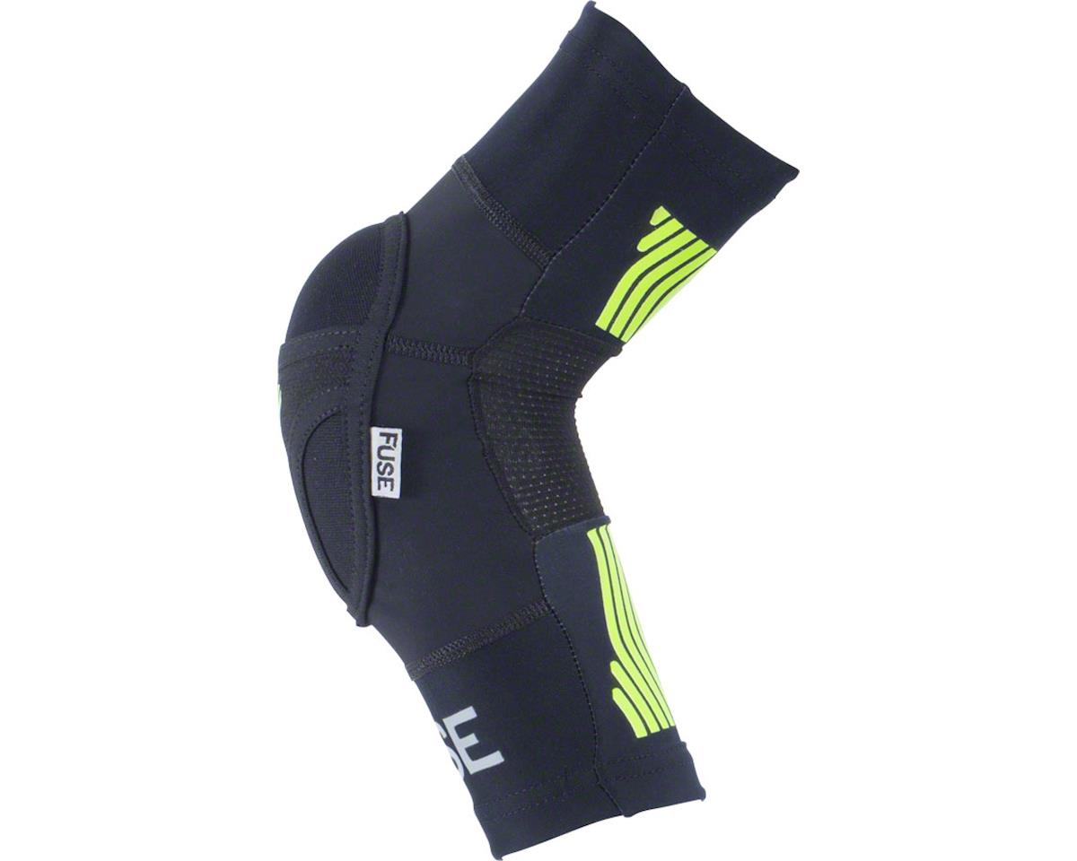 Image 3 for Fuse Protection Omega Elbow Pad: Black/Neon Yellow, SM/MD, Pair (M/L)