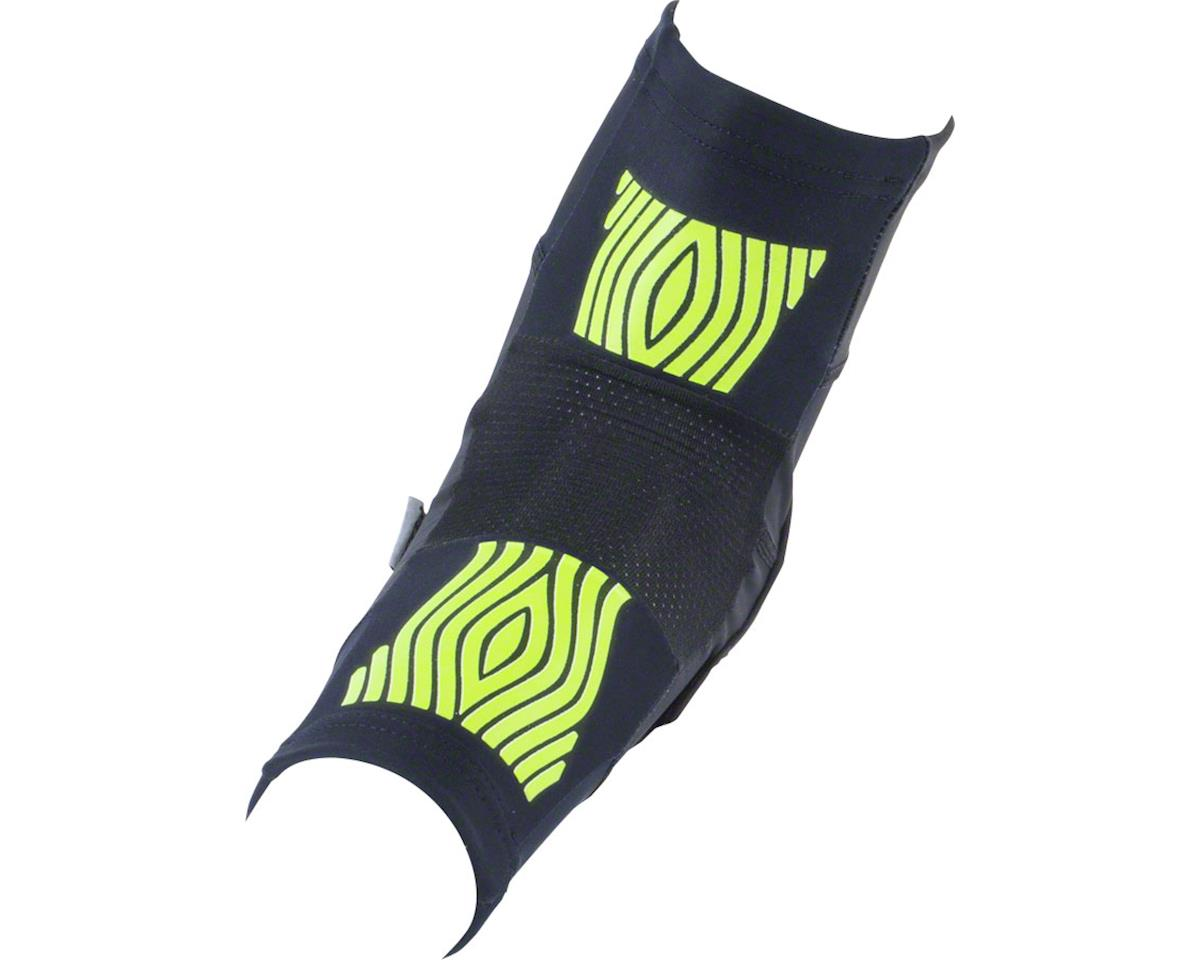 Fuse Protection Omega Elbow Pad: Black/Neon Yellow, SM/MD, Pair (XL/XXL)