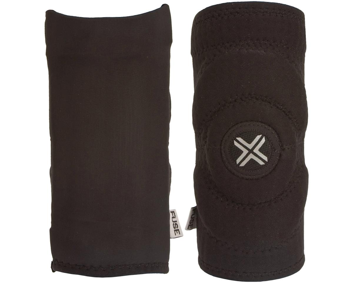 Fuse Protection Alpha Elbow Sleeve Pad: Black SM, Pair (XL)