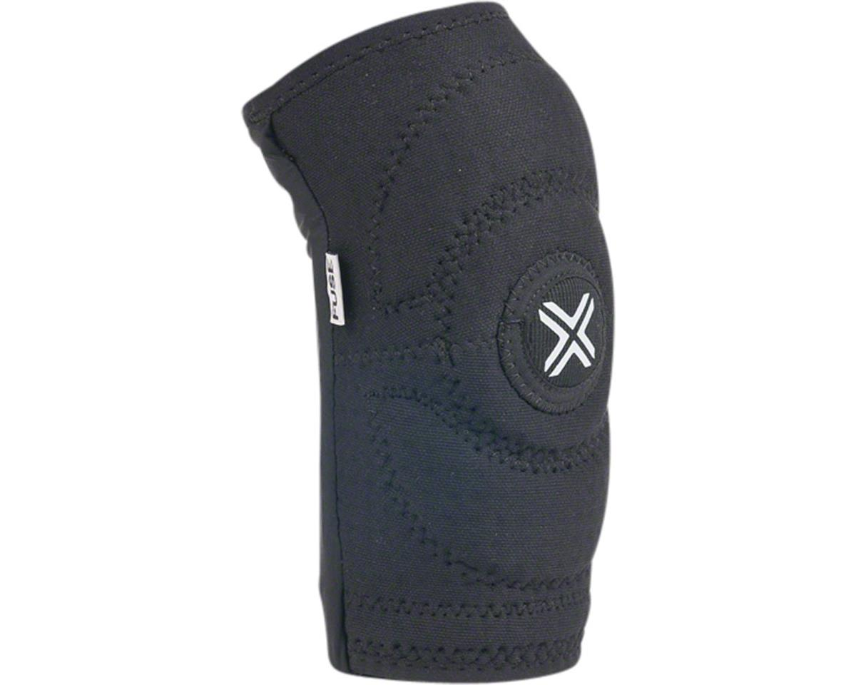 Image 1 for Fuse Protection Alpha Elbow Sleeve Pad: Black SM, Pair (2XL)