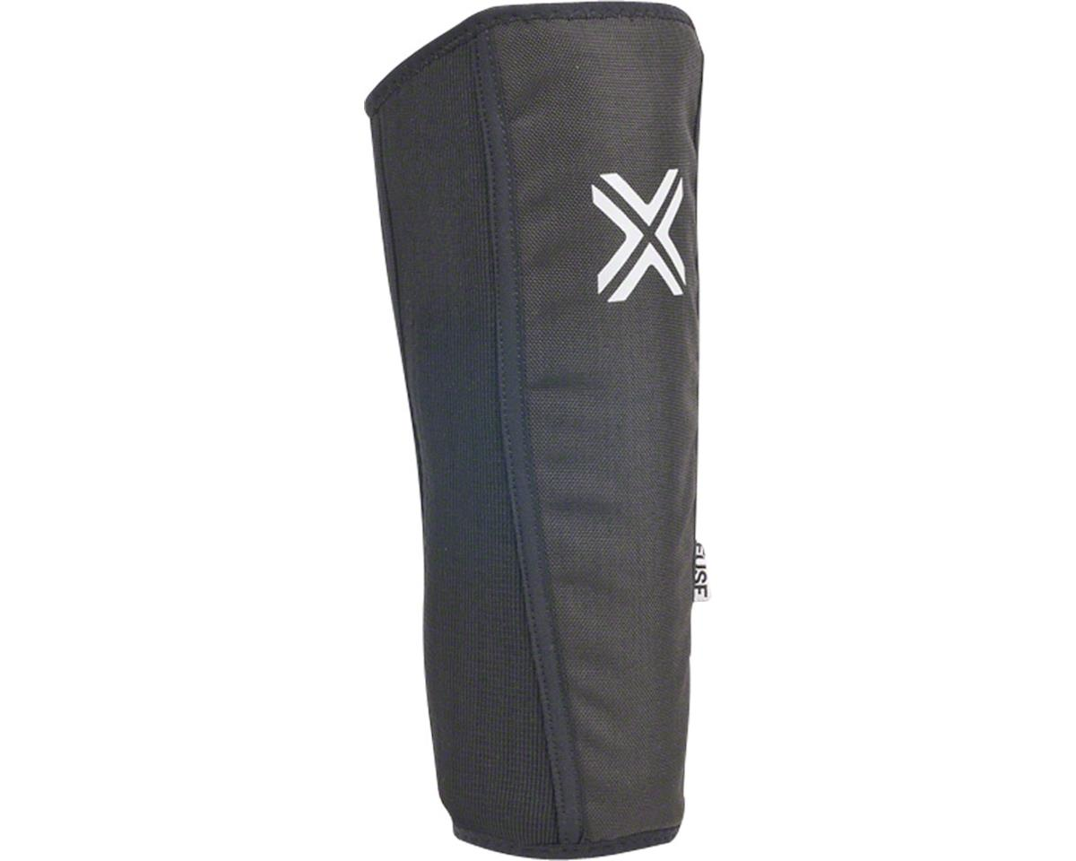 Fuse Protection Alpha Shin Pad: Black SM, Pair