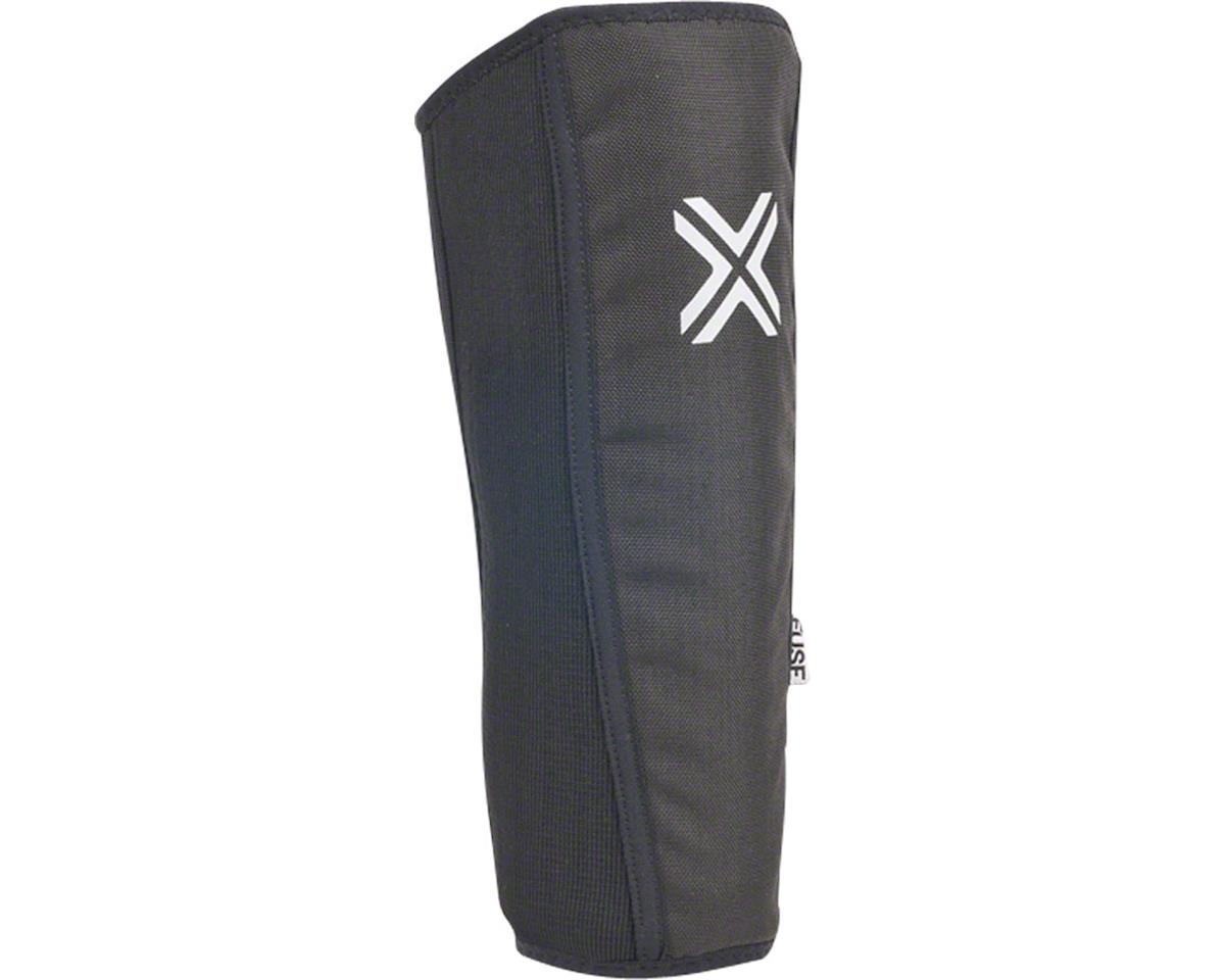 Fuse Protection Alpha Shin Pad: Black 2XL, Pair (S)