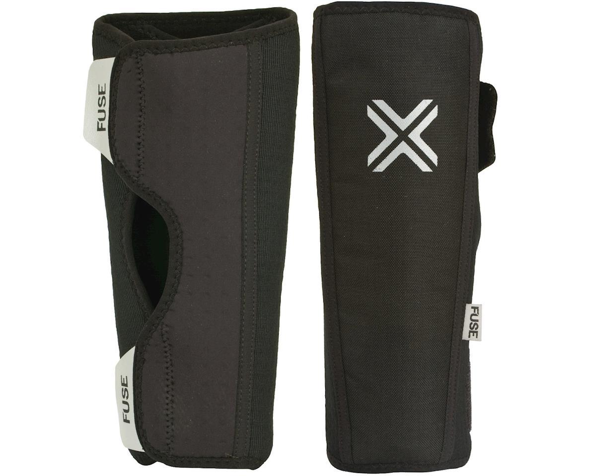 Fuse Protection Alpha Shin Pad: Black 2XL, Pair (L)
