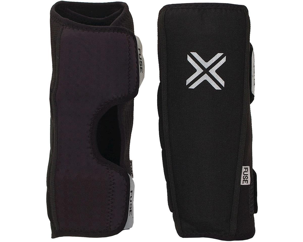 Fuse Protection Alpha Shin Pad: Black SM, Pair (2XL)
