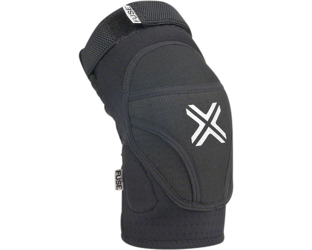 Fuse Protection Alpha Knee Pad: Black SM, Pair (2XL)