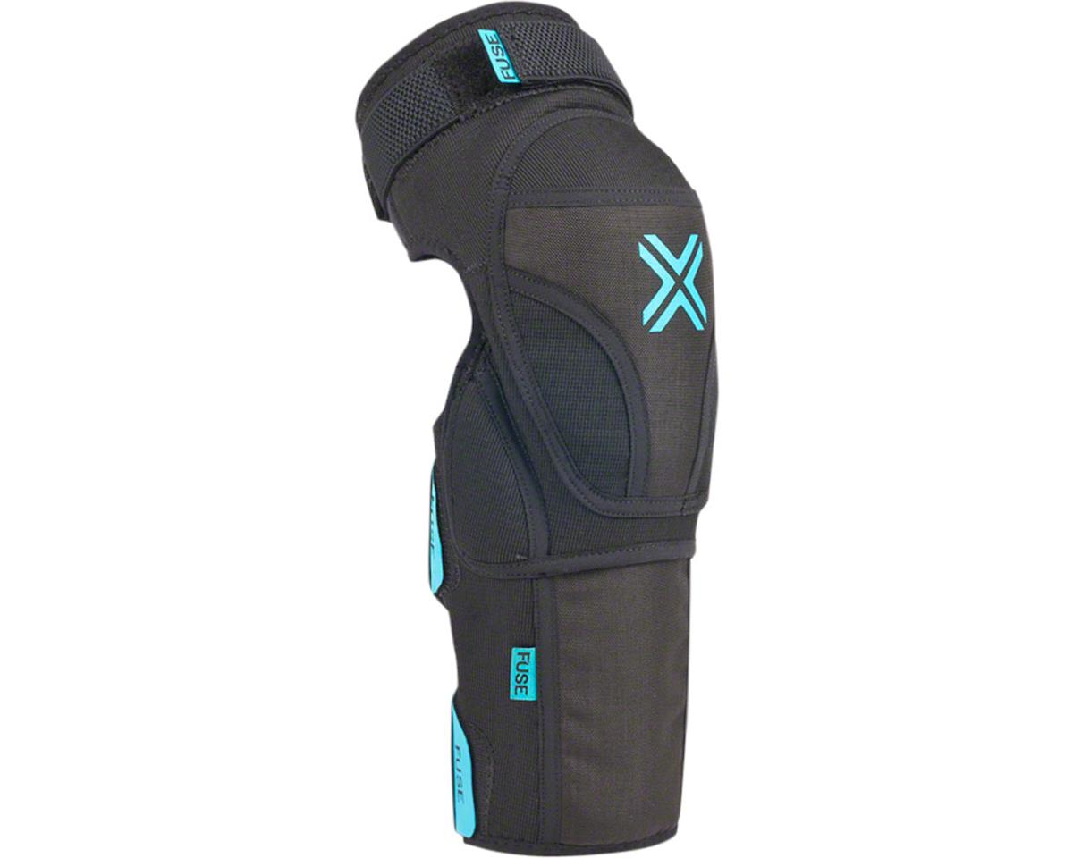 Fuse Protection Echo 75 Knee Shin Combo Pad: Black XL, Pair