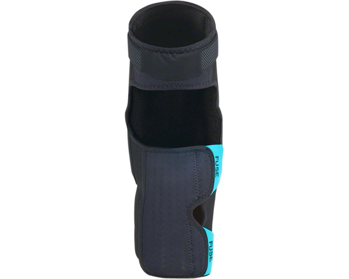 Fuse Protection Echo 75 Knee Shin Combo Pad: Black XL, Pair (L)