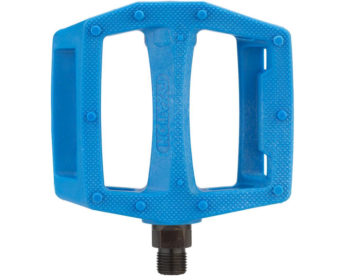 Fyxation Gates PC Pedals Blue
