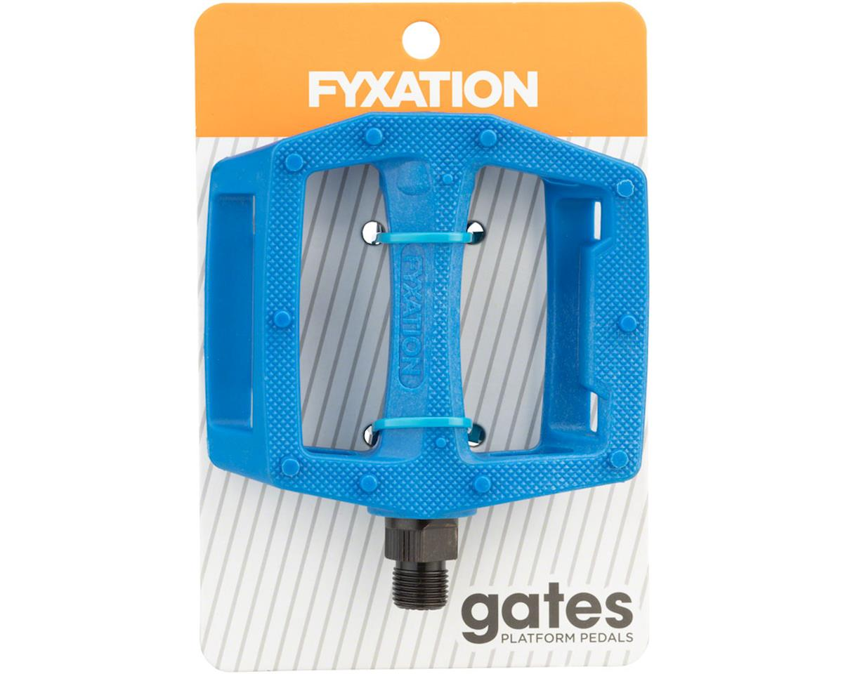 Image 3 for Fyxation Gates PC Pedals Blue