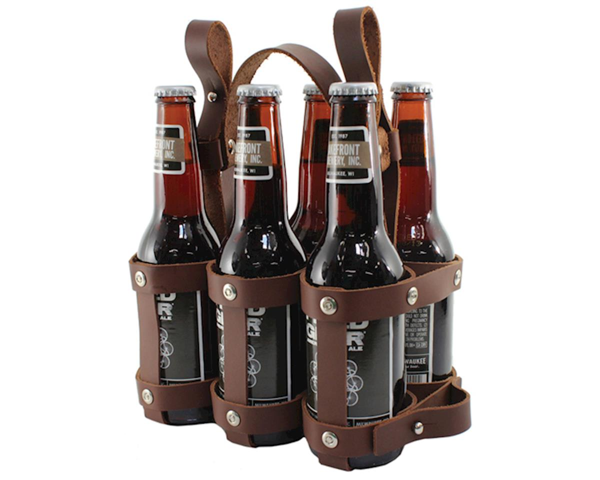 Leather Six Pack Caddy