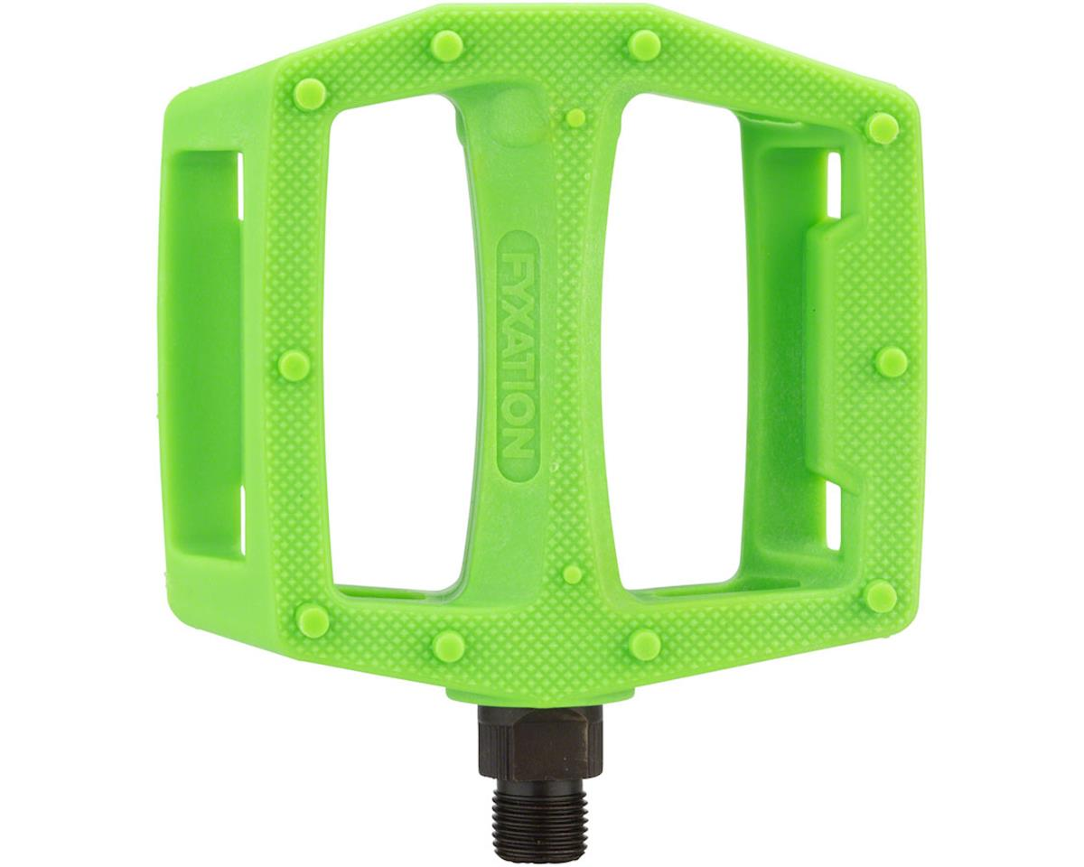 Fyxation Gates PC Pedals Green