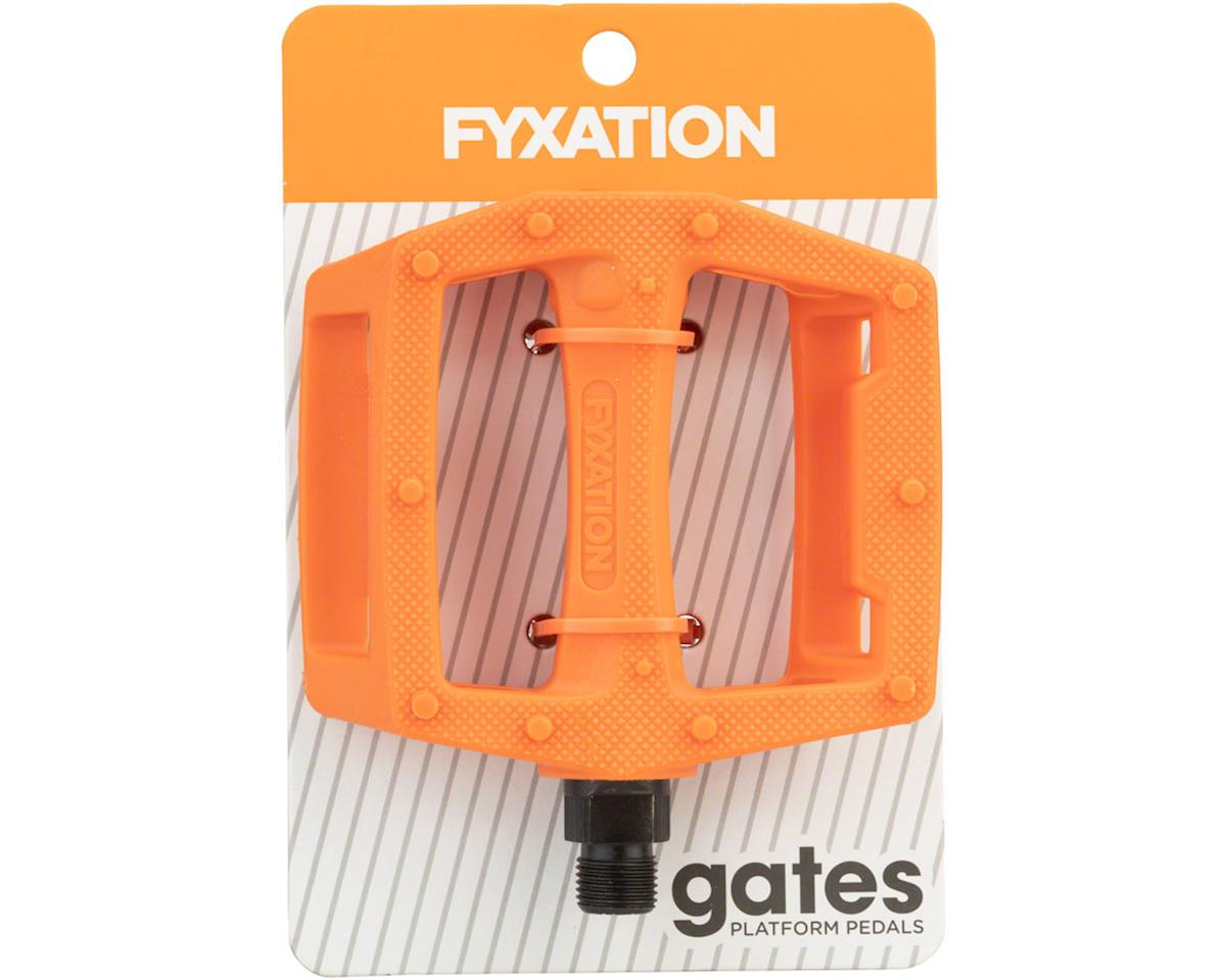 Image 3 for Fyxation Gates PC Pedals Orange