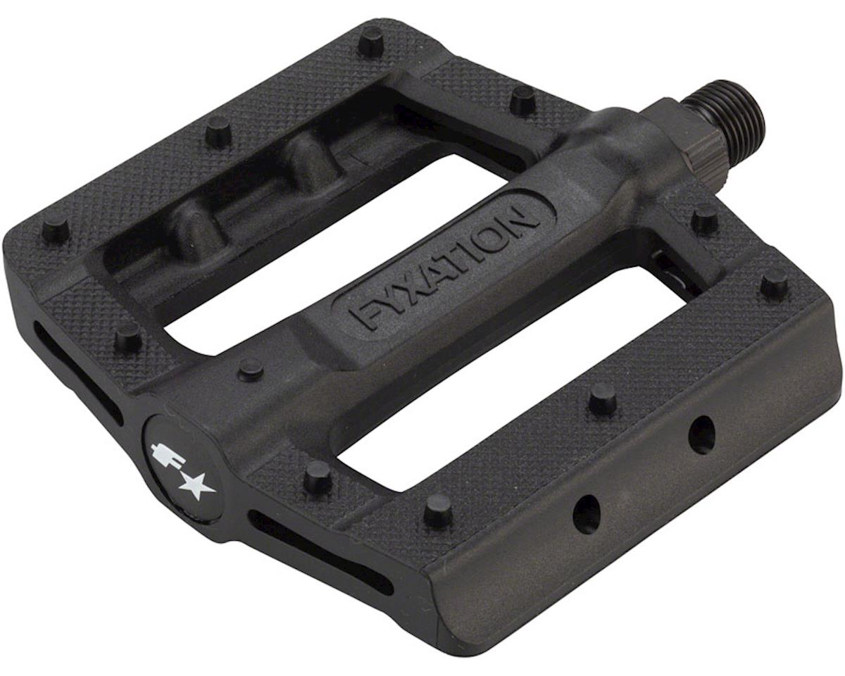 Fyxation Gates Slim Pedals Black