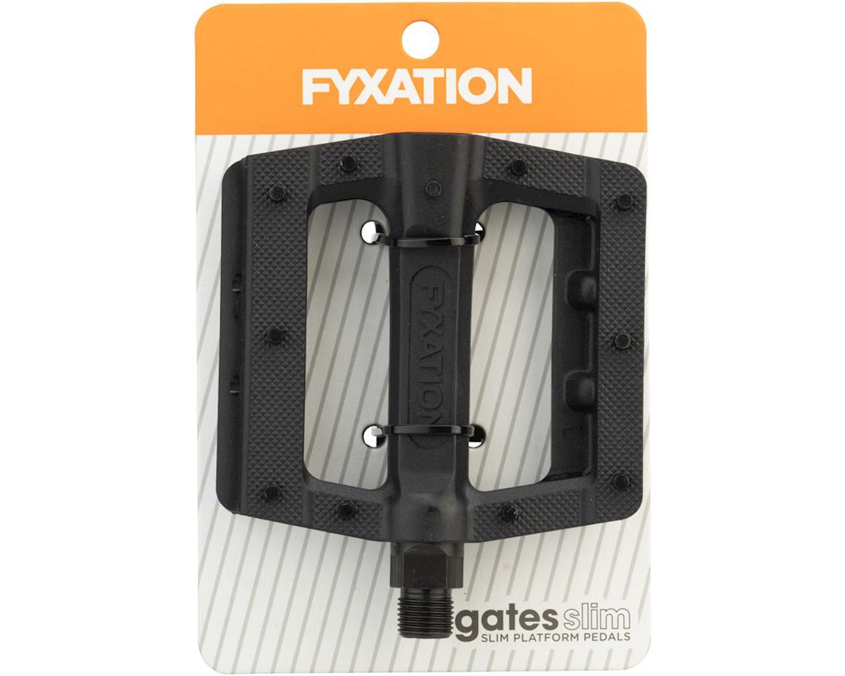 Image 3 for Fyxation Gates Slim Pedals Black