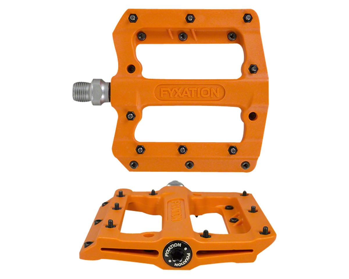 Mesa MP Sealed Nylon Pedals: 9/16, Orange, Replaceable Pins