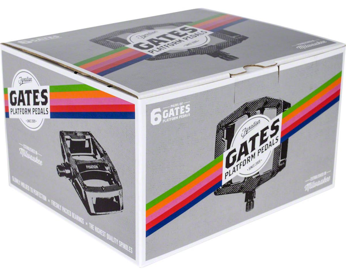 Gates Pedal Bulk Pack, Six Pairs, Assorted Colors