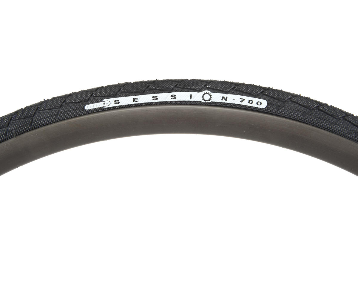 Fyxation Session Tire (Black) (Folding)