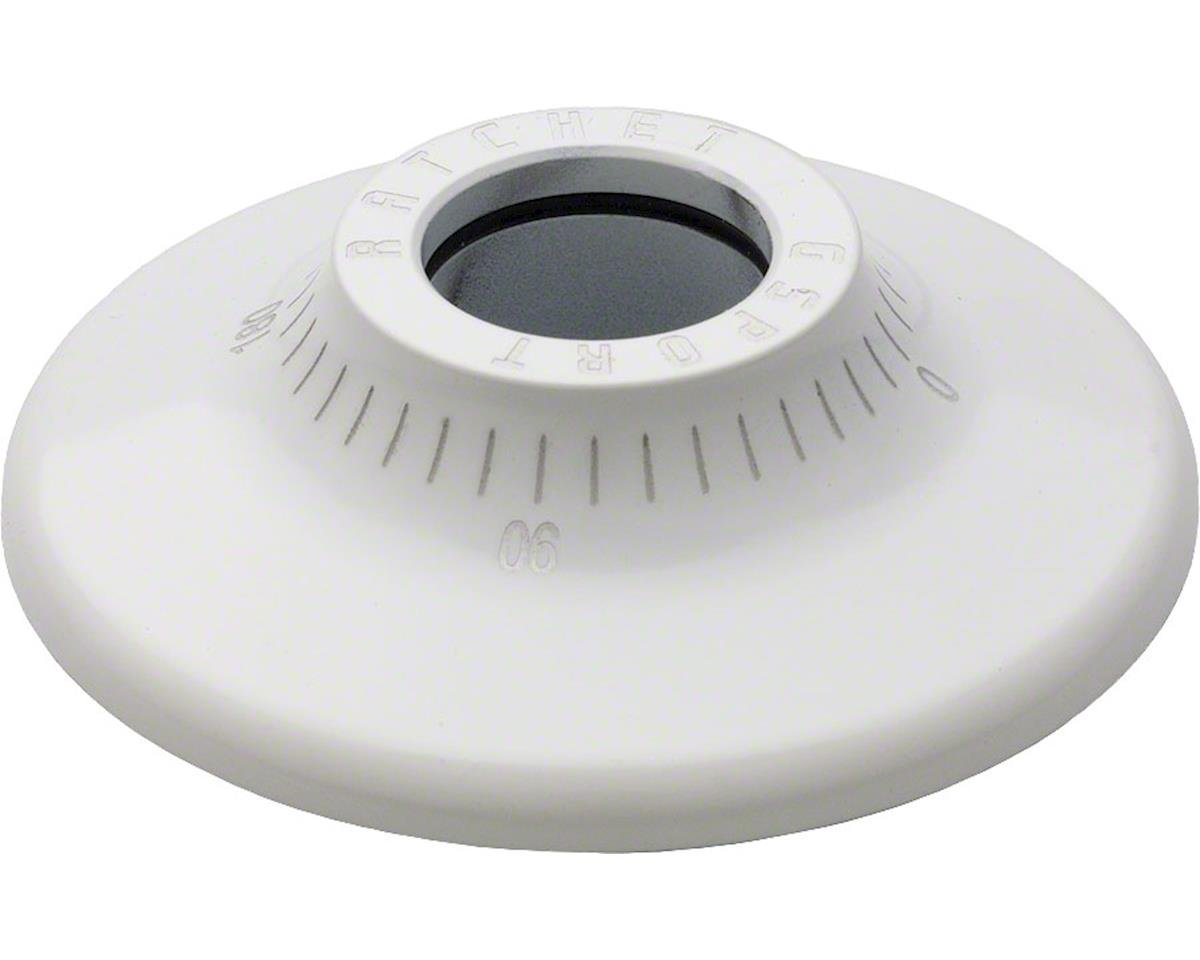G Sport Ratchet Hub Guard White