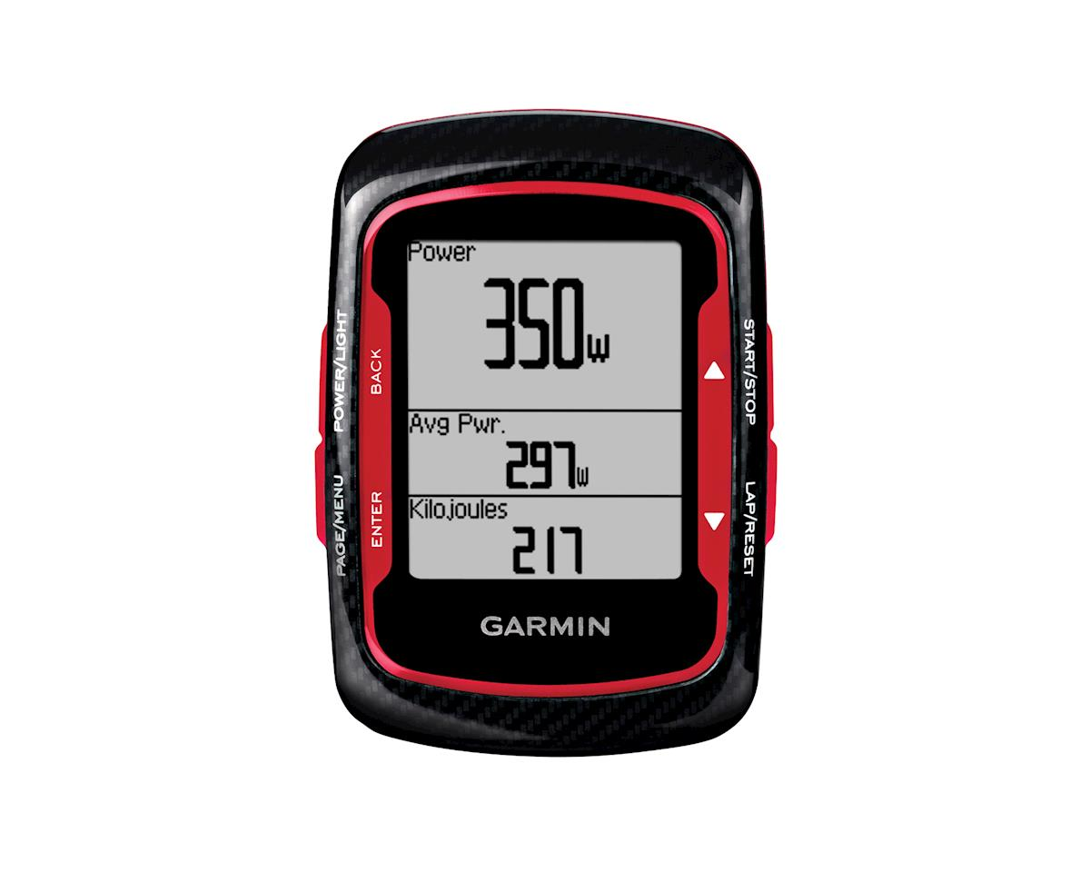 Garmin Edge 500: Black/Red