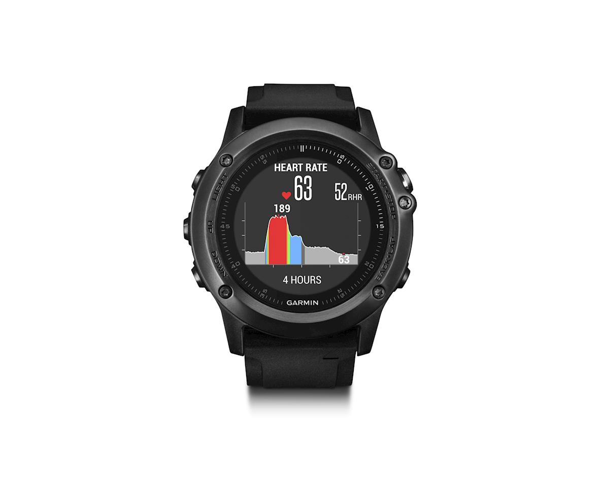 Garmin Fenix 3 HR Training Watch Performer Bundle Including HRM-Run Monitor Gray