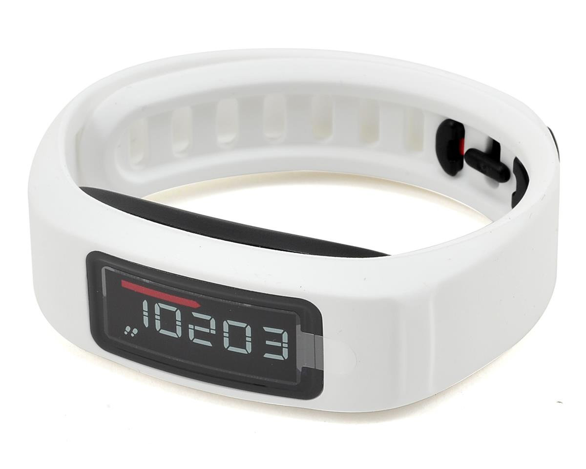 Garmin Vivofit 2 Fitness Band Heart Rate Monitor Bundle (White)