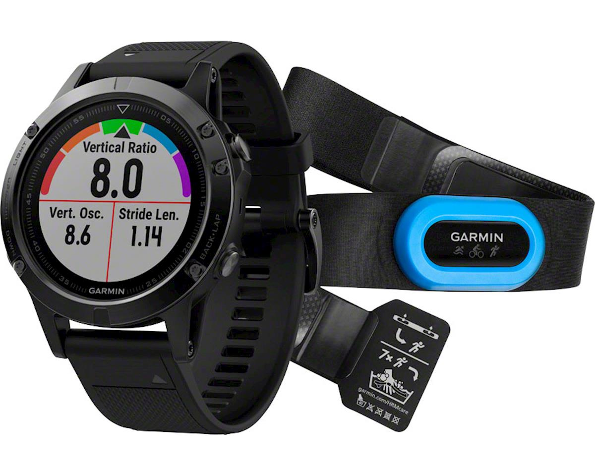 Garmin Fenix 5 Sapphire GPS Watch Performer Bundle (Black)