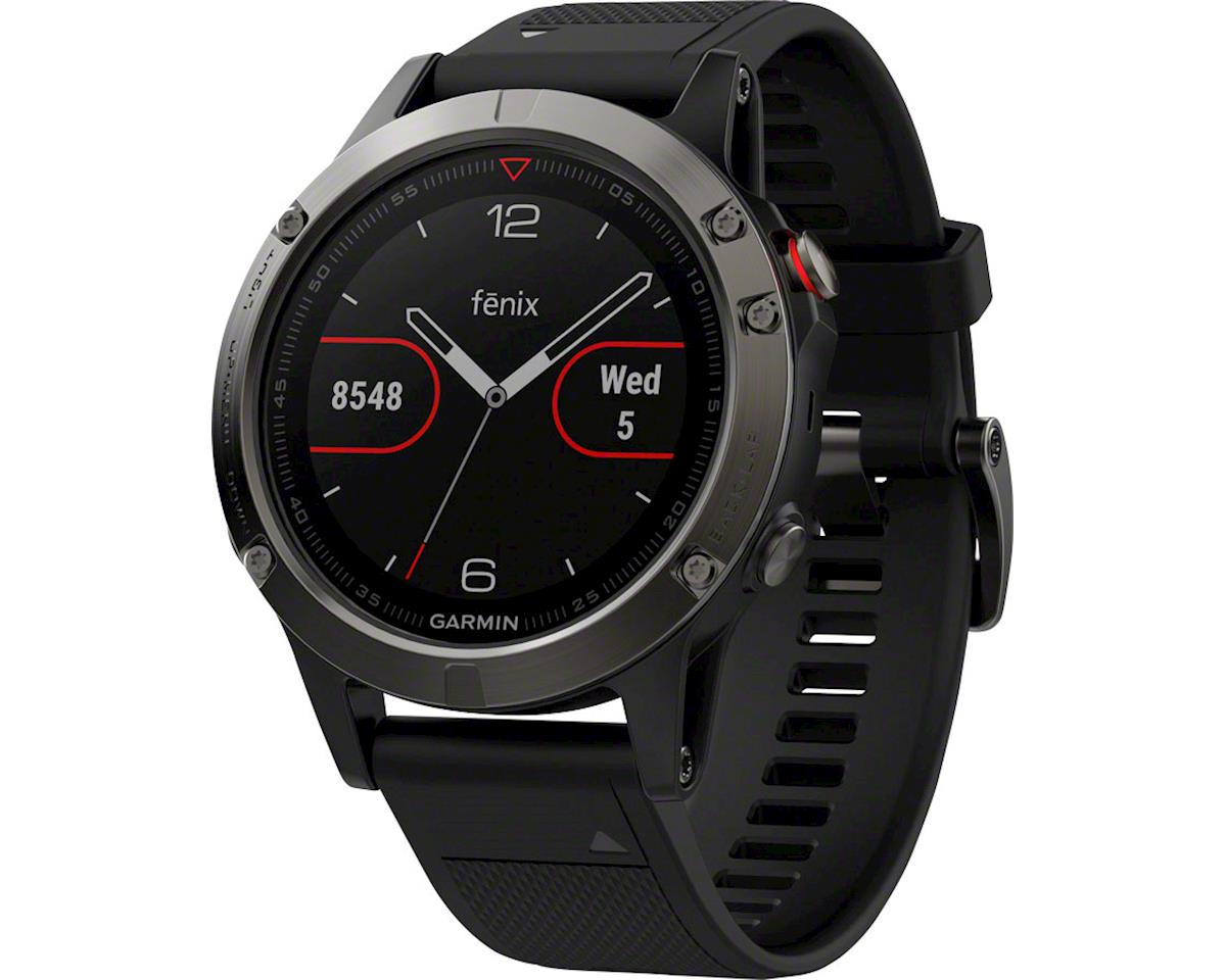 Image 2 for Garmin Fenix 5 Sapphire GPS Watch Performer Bundle (Black)