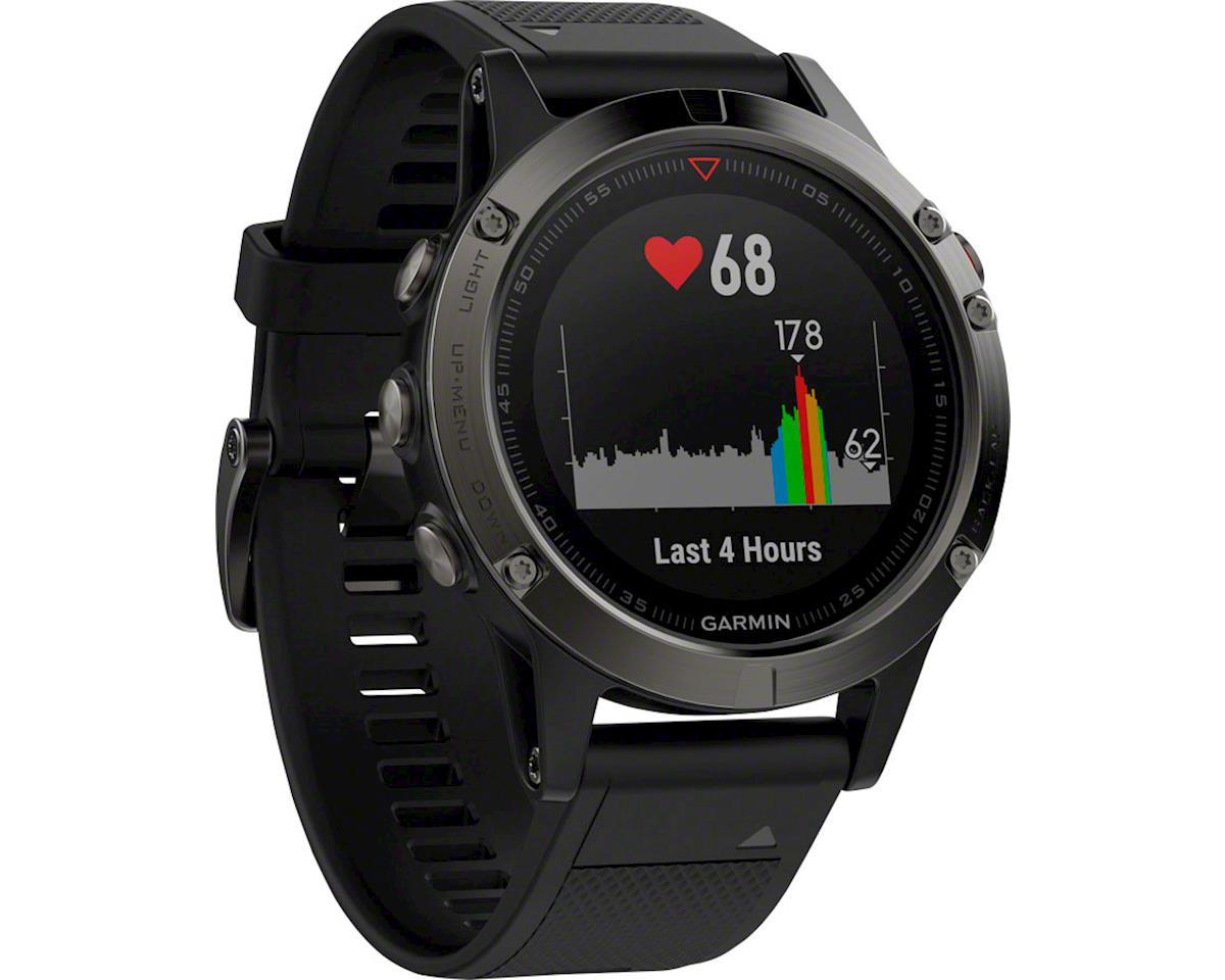 Image 3 for Garmin Fenix 5 Sapphire GPS Watch Performer Bundle (Black)