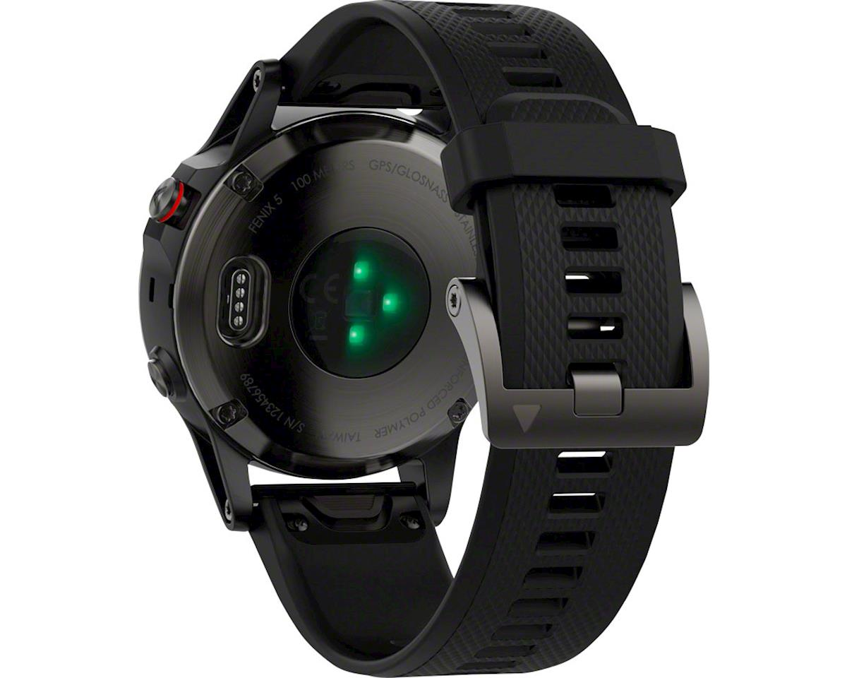 Image 4 for Garmin Fenix 5 Sapphire GPS Watch Performer Bundle (Black)