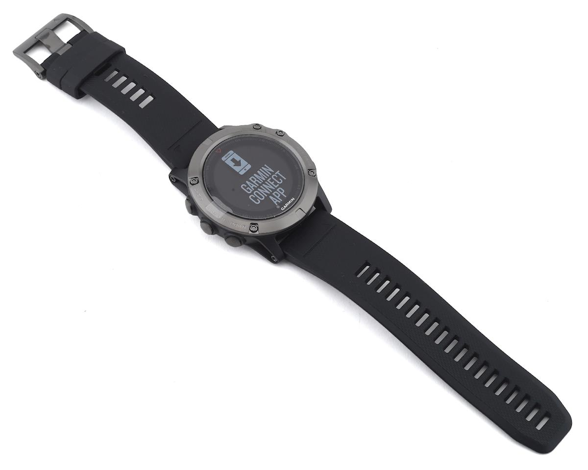 Garmin Fenix 5X Sapphire GPS Watch: Slate Gray/Black