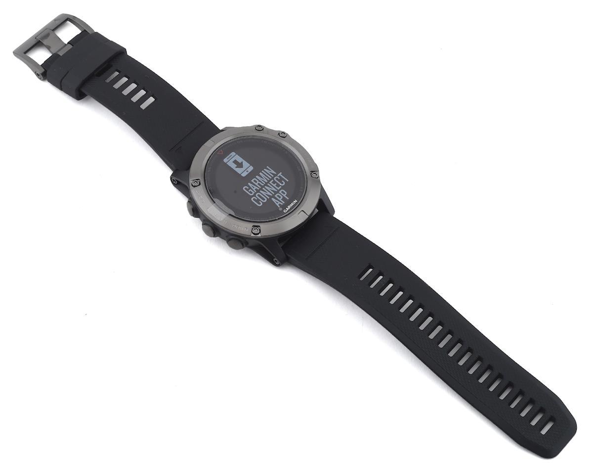Garmin Fenix 5X Sapphire GPS Watch (Slate Gray/Black)