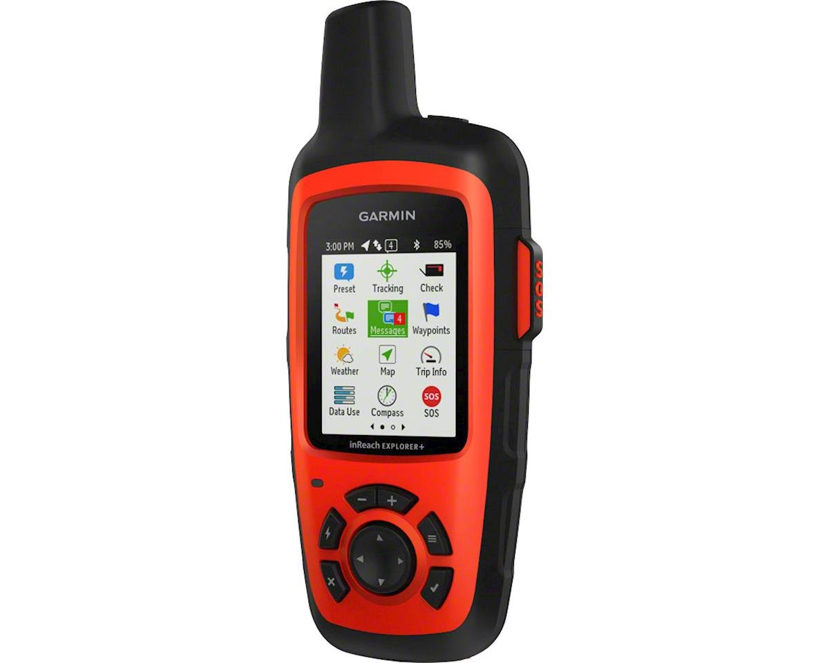 Garmin inReach Explorer+ Satellite Communicator with GPS, Red