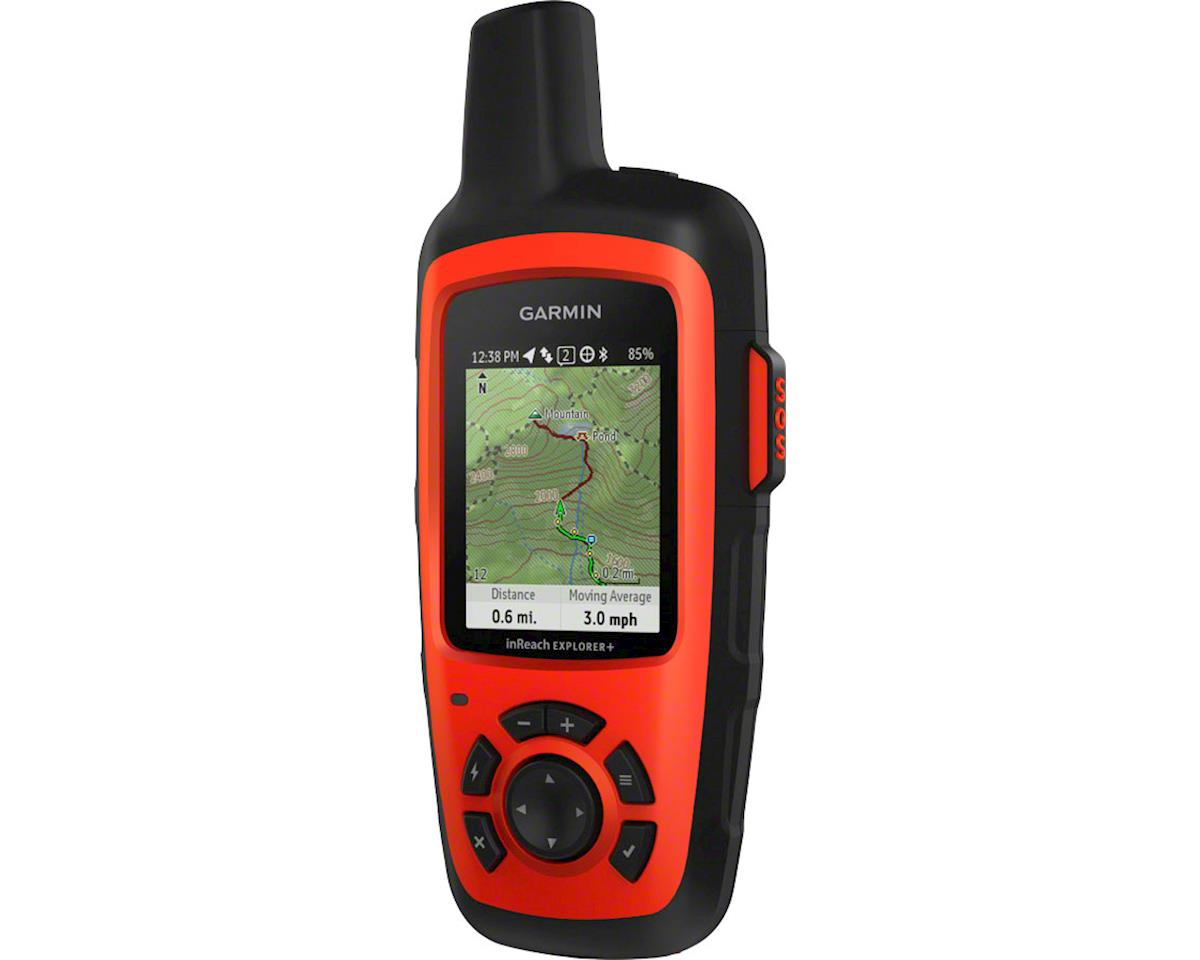 Garmin inReach Explorer+ Satellite Communicator w/ GPS (Red)