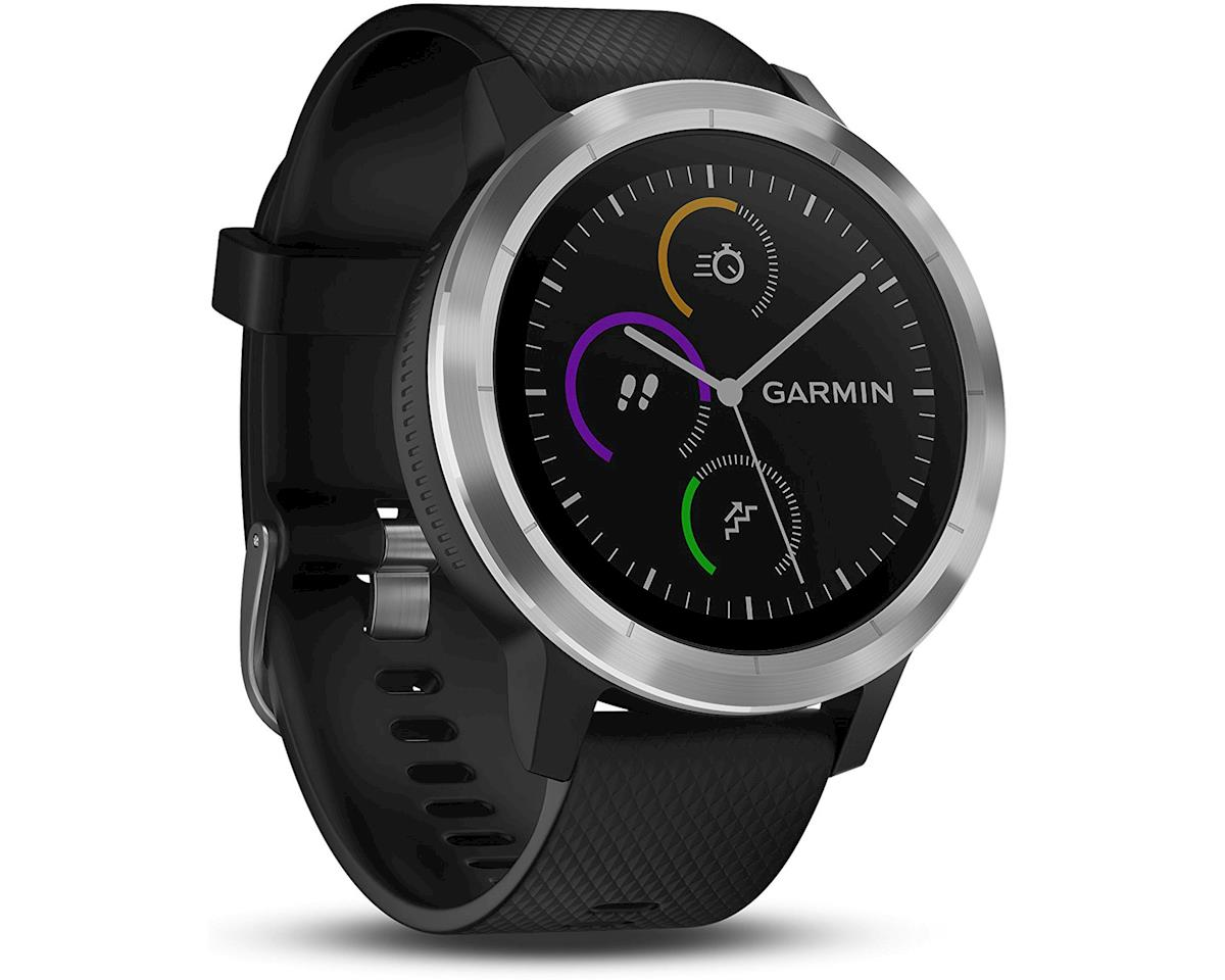 Garmin Vivoactive 3 GPS Smartwatch (Black/Stainless)