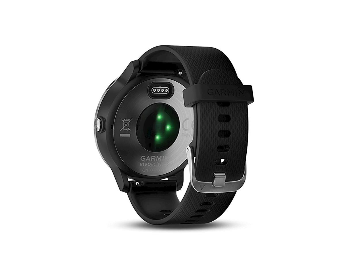Garmin Vivoactive 3 GPS Smartwatch: Black/Stainless
