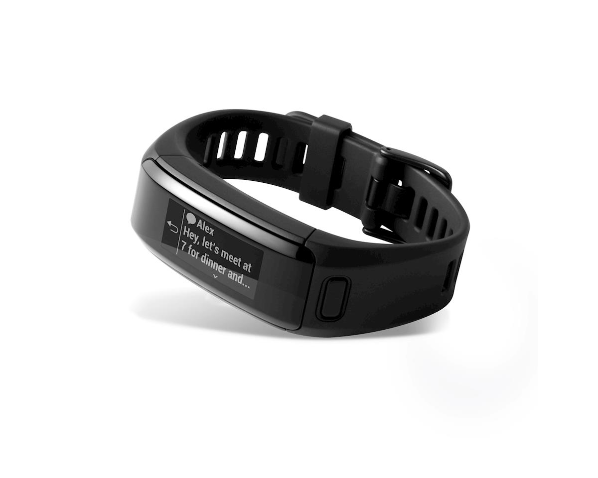 Garmin Vivosmart Heart Rate Activity Tracker, Regular Fit: Black