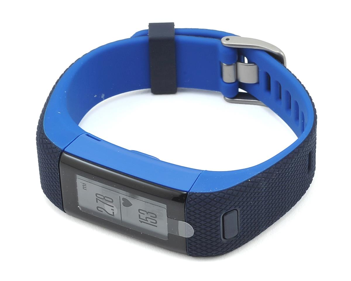 Garmin Vivosmart HR+ (Regular Fit) (Midnight Blue)
