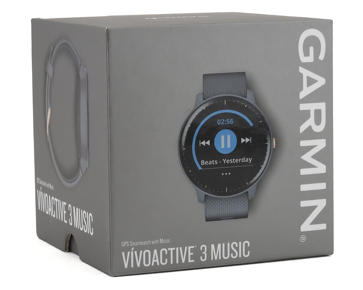 Garmin Vivoactive 3 Music (Granite Blue/Rose Gold)