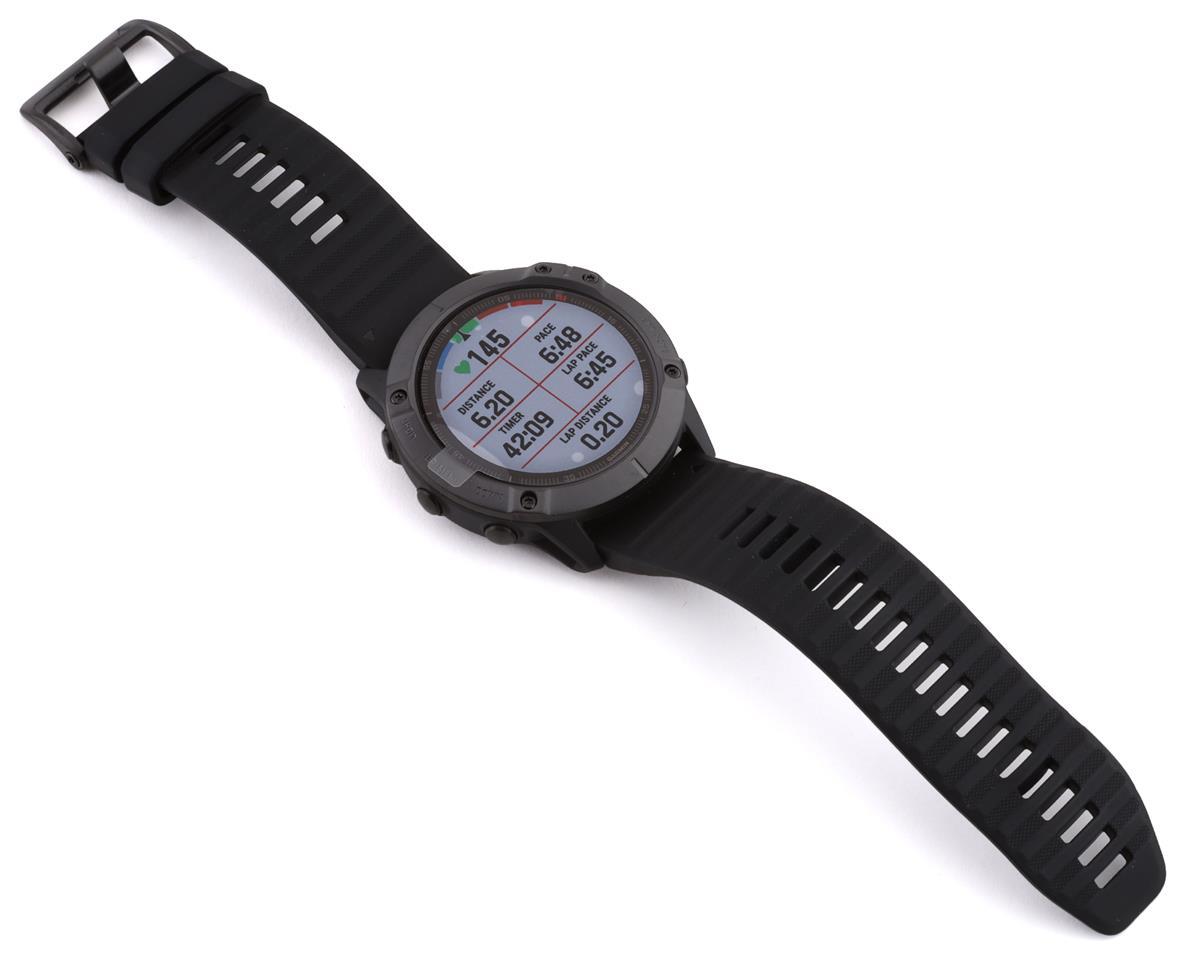 Garmin Fenix 6X Pro (Black w/ Black Fenix 6 Quick Fit Wristband)