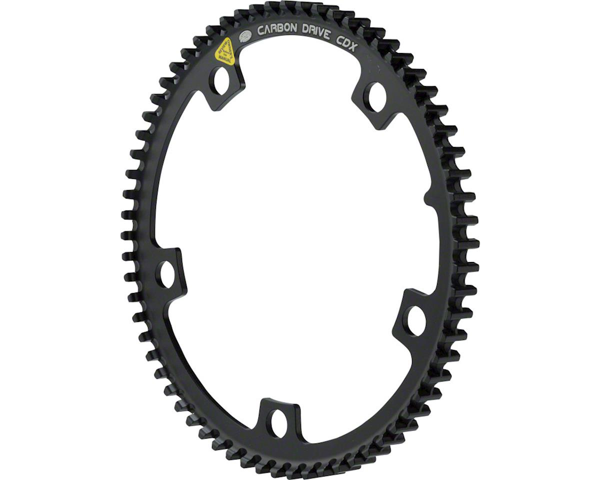 CDX CenterTrack Front Pulley 66T 5 bolt 130 BCD for Tandems