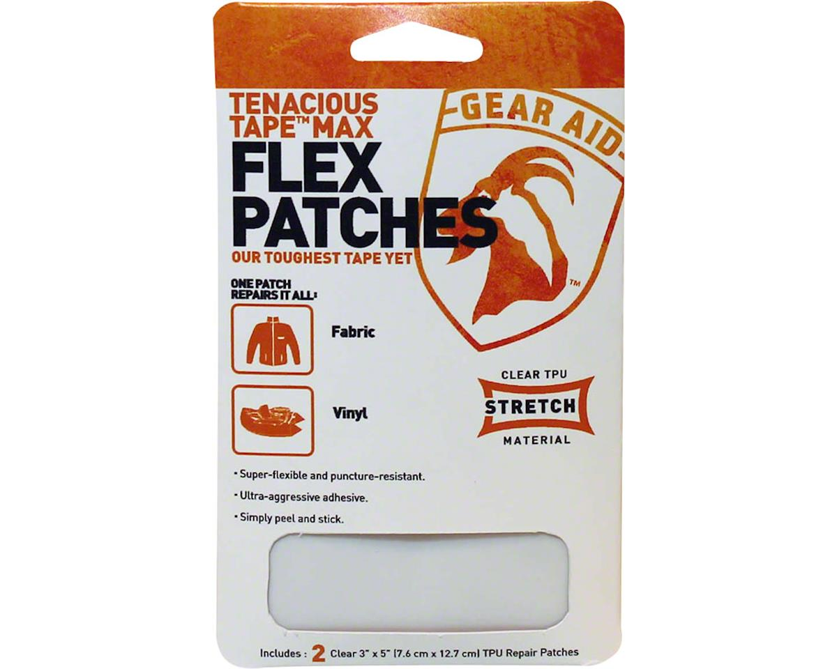 Gear Aid Tenacious Tape Max: Flex Patches, Clear