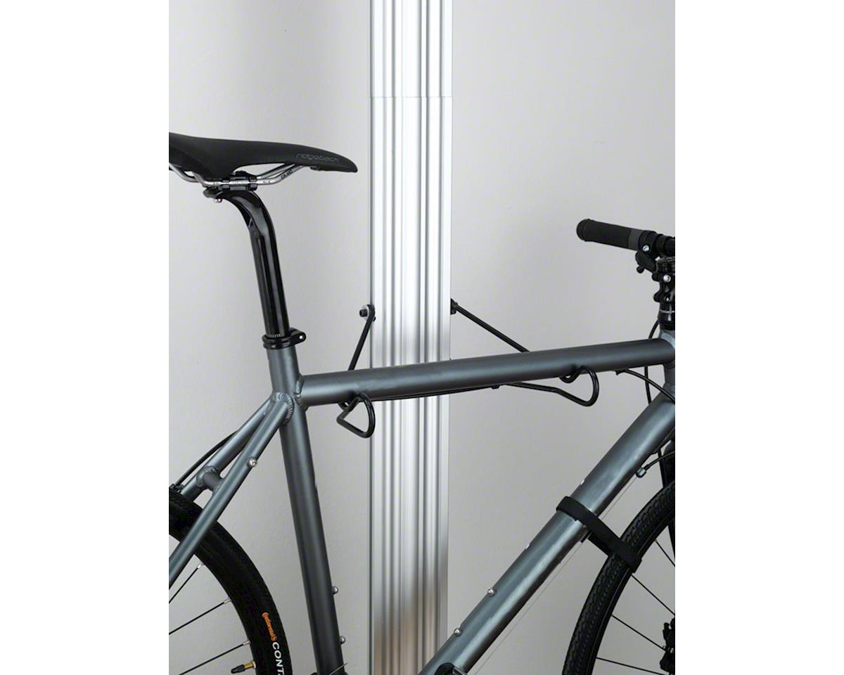 Image 4 for Gearup Gear Up Floor to Ceiling Aluminum Storage Rack: 2-Bike, Silver