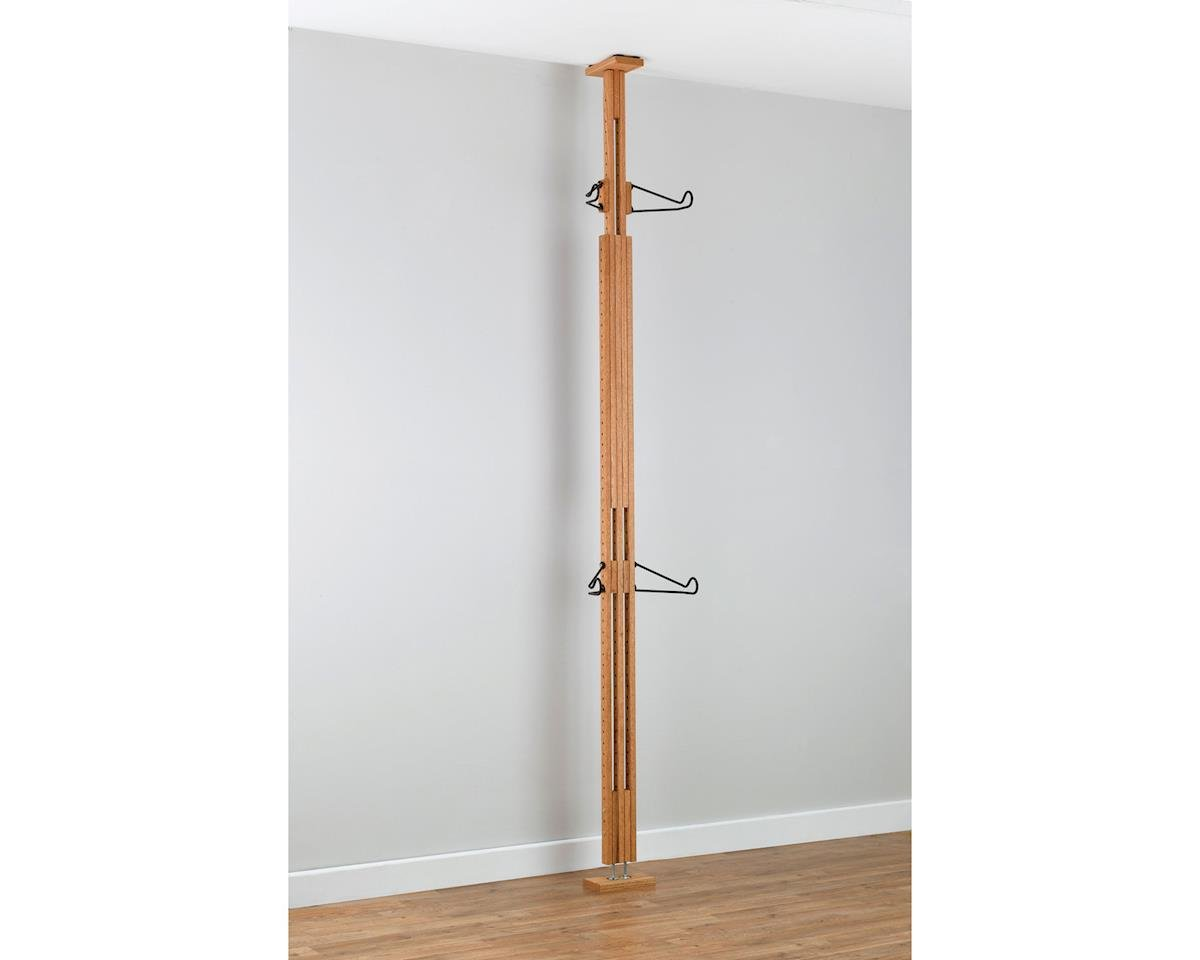 Gear Up OakRak Floor-To-Ceiling 2-Bike Rack